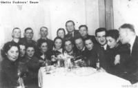 Przedstawiciele organizacji Bund z Zamościa(?), 1935.