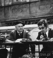 Adam Tomanek, Janusz Wszytko, relacja z obchodów 1 maja 1972 r., fot. J. Trembecki