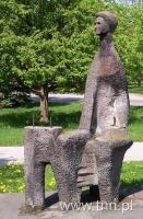 Pomnik Małżonków Curie, fot. K. Ożóg