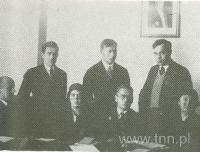 J. Łobodowski, W. Kasperski, J. Czechowicz.