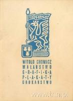 Druk wykonany przez J. Kozakiewicza w Katedrze Grafiki Książki prowadzonej przez prof. Witolda Chomicza